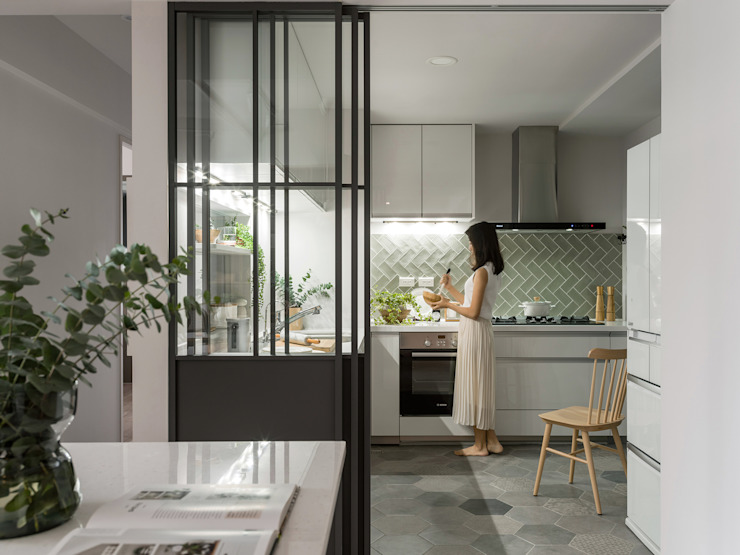 Chic house 寓子設計 廚房