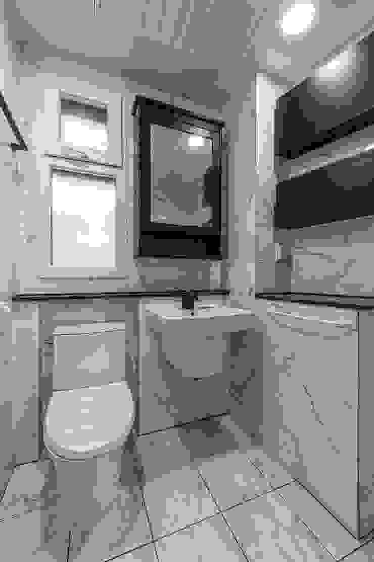 interior & architecture by INARK 대구 달서구 두류동 도담도담 하우스 대구 협소주택 소형주택 상가주택 전원주택 인아크 건축 설계 인테리어 디자인 미니멀리스트 욕실 by inark [인아크 건축 설계 디자인] 미니멀