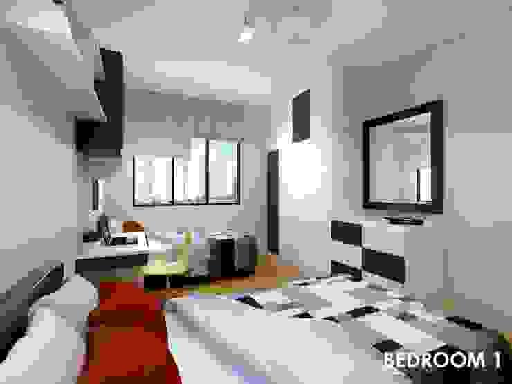 Neram Crescent by Swish Design Works Modern