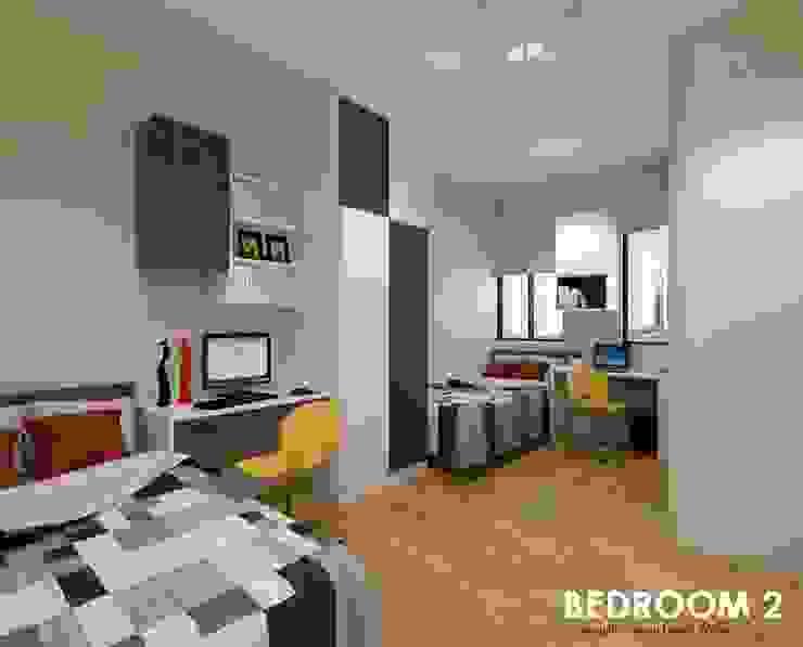 Neram Crescent Modern style bedroom by Swish Design Works Modern