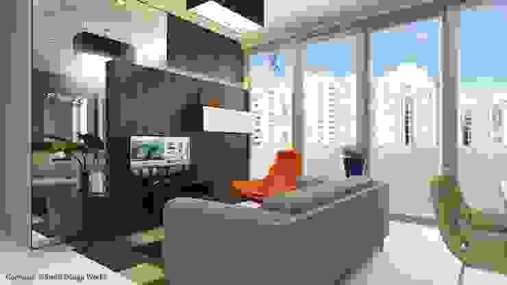 Sennett Residence Scandinavian style living room by Swish Design Works Scandinavian