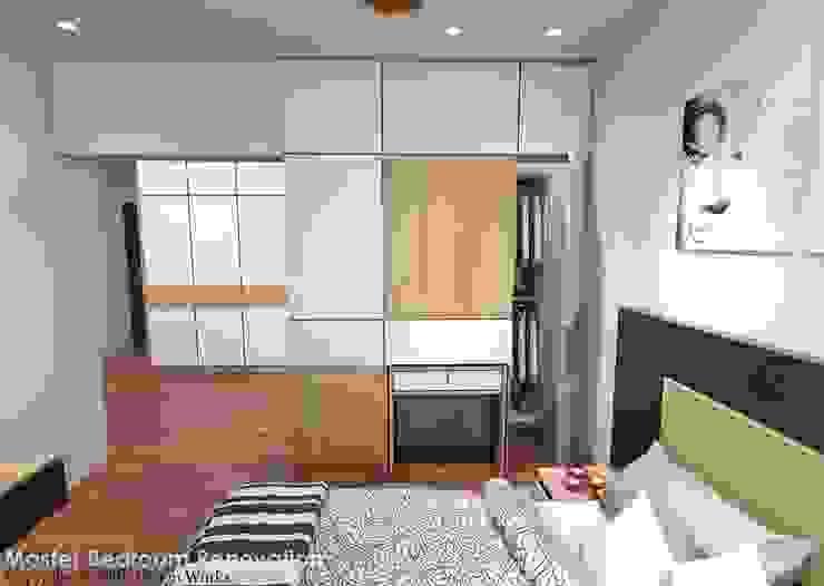 Spanish Village Scandinavian style bedroom by Swish Design Works Scandinavian