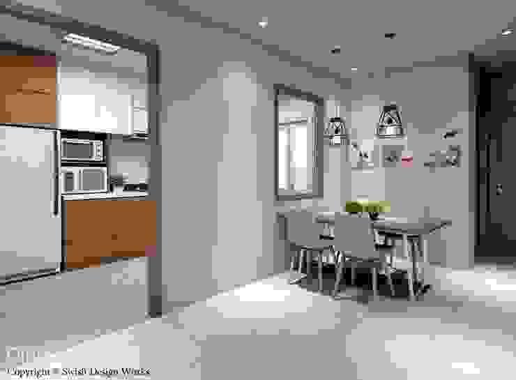Modern Dining Room by Swish Design Works Modern