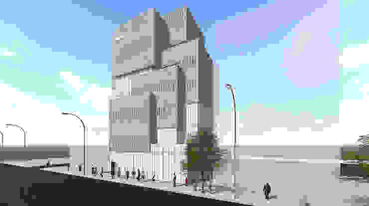 근린생활시설 projects: AAG architecten의 현대 ,모던