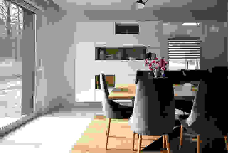 Piotr Stolarek Projektowanie Wnętrz Sala da pranzo moderna