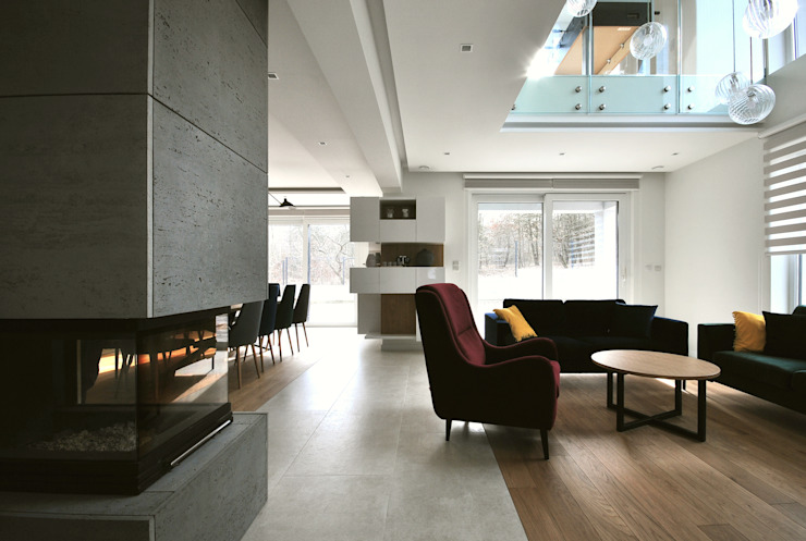 Piotr Stolarek Projektowanie Wnętrz Living room