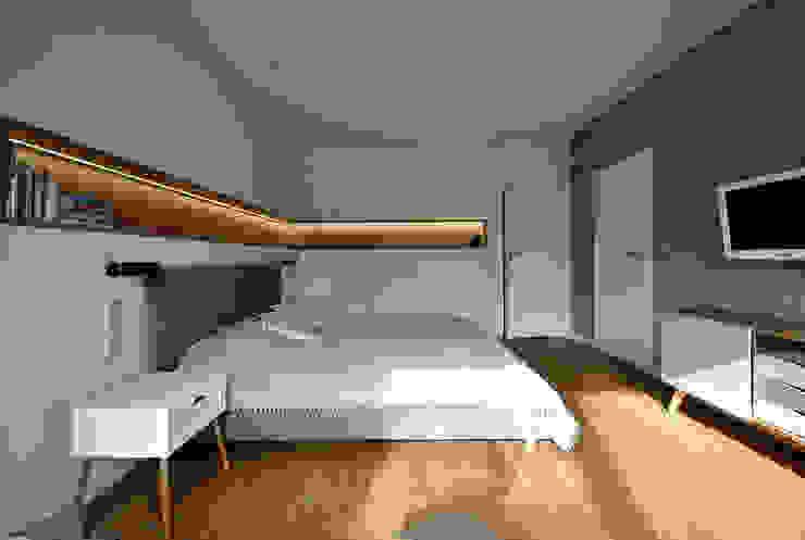 Piotr Stolarek Projektowanie Wnętrz Modern style bedroom