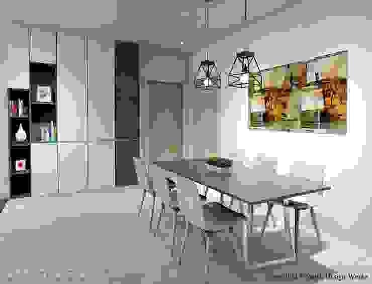 Serangoon North Ave 2 Scandinavian style dining room by Swish Design Works Scandinavian