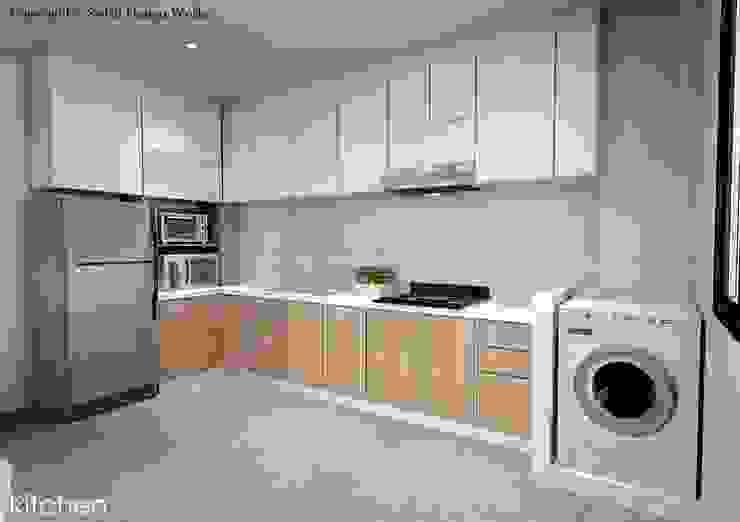 Anchorvale Road Modern kitchen by Swish Design Works Modern