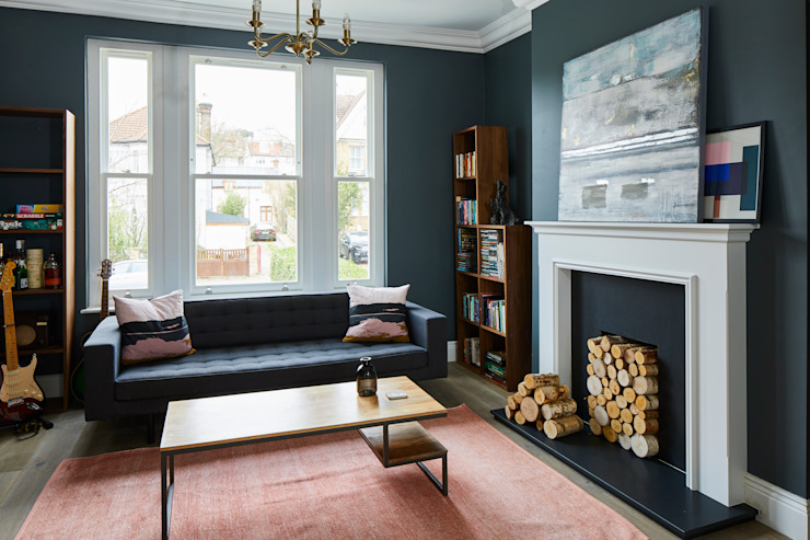 Home Renovation, Forest Hill Modern living room by Resi Architects in London Modern