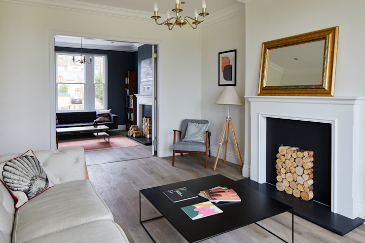Home Renovation, Forest Hill モダンデザインの リビング の Resi Architects in London モダン