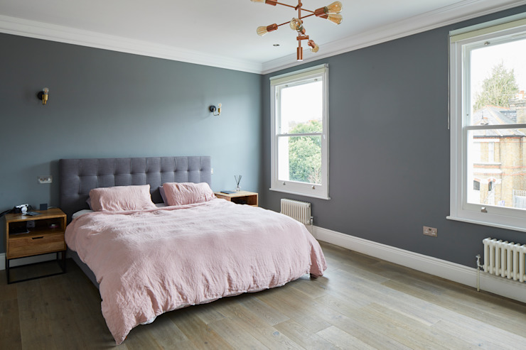 Home Renovation, Forest Hill:  Bedroom by Resi Architects in London