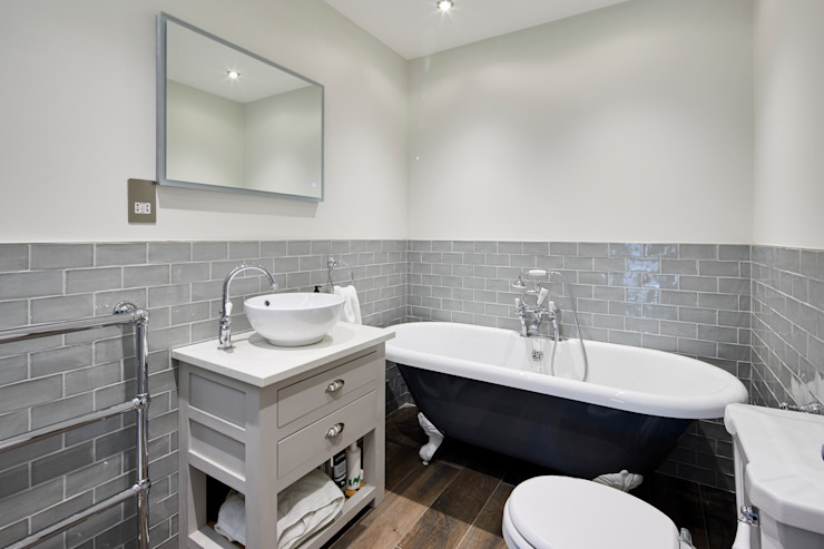 Home Renovation, Forest Hill Modern Banyo Resi Architects in London Modern