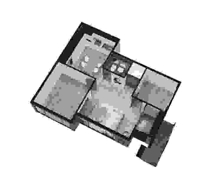 오류동 주택 리모델링: 디자인 이업의 현대 ,모던