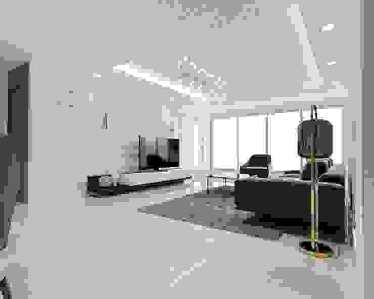 평창동 아파트 리모델링: 디자인 이업의 현대 ,모던
