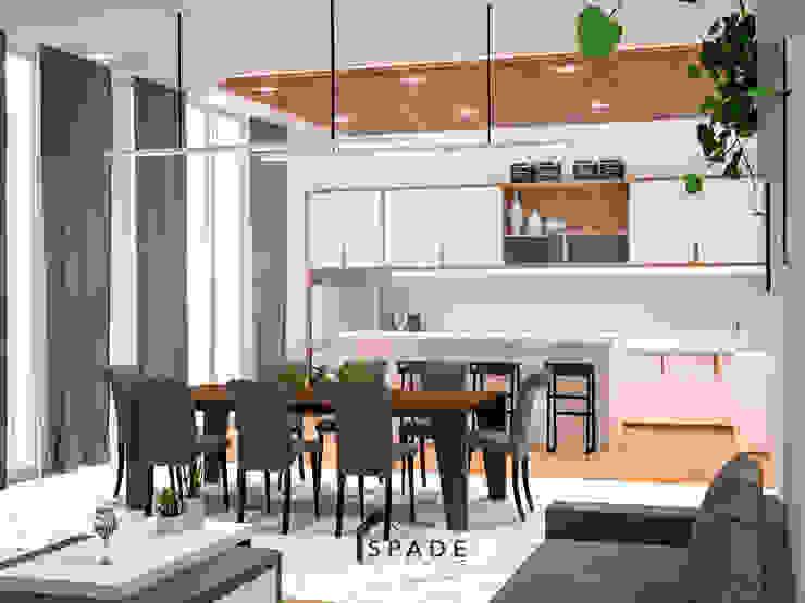 Dapur dan Meja makan Dapur Modern Oleh SPADE Studio Indonesia Modern