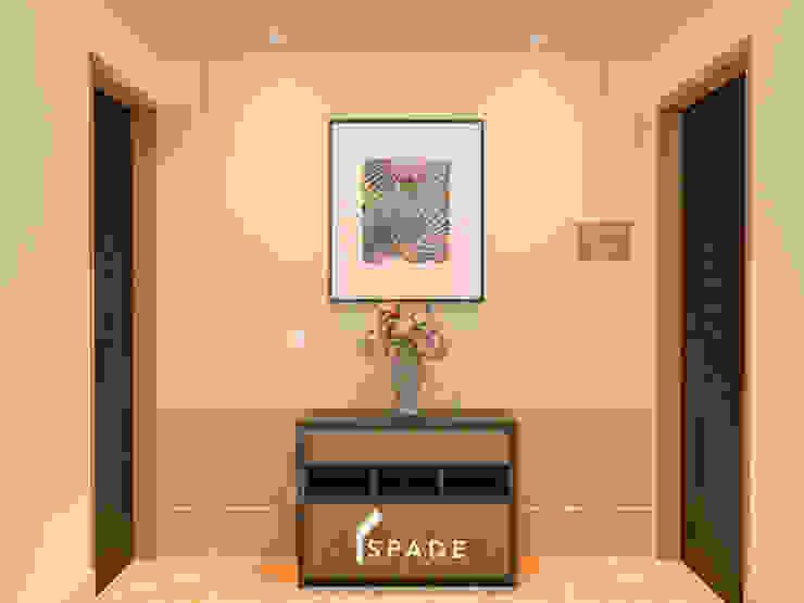 Kensington's Unit Apartment Kelapa Gading Koridor & Tangga Modern Oleh SPADE Studio Indonesia Modern