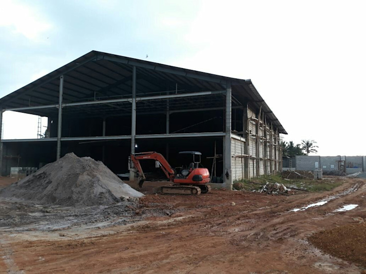 Warehouse & Office Kalimantan Oleh SPADE Studio Indonesia