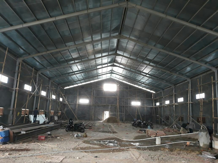 Warehouse Kalimantan Oleh SPADE Studio Indonesia