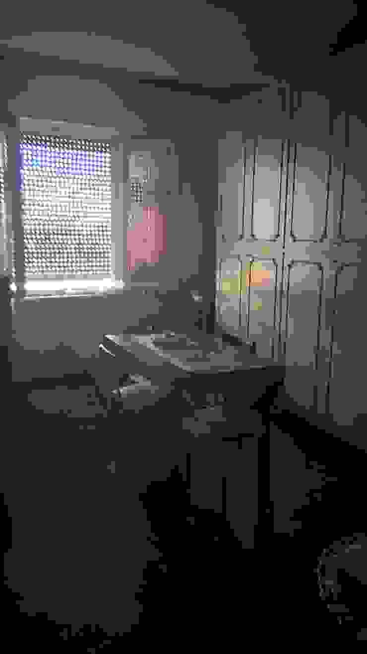 STUDIO ARCHITETTURA SPINONI ROBERTO Ruang Makan Gaya Rustic