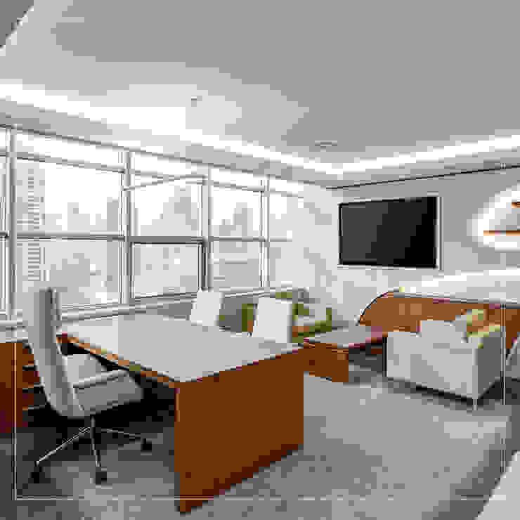 Corporación Siprisma S.A.C ห้องอ่านหนังสือและห้องทำงานโต๊ะทำงาน