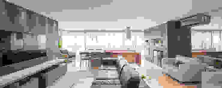Apartamento MS Salas de estar clássicas por BEP Arquitetos Associados Clássico