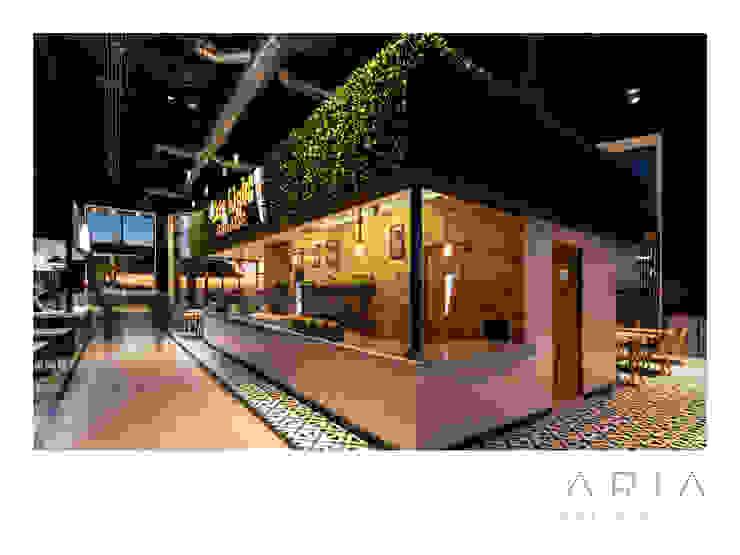 Aria Estudio 商業空間 Wood effect