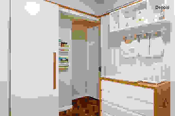 Quartos de bebê por Aline Frota Interiores + Retail Design Moderno