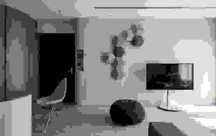 living room 湜湜空間設計 现代客厅設計點子、靈感 & 圖片 Green
