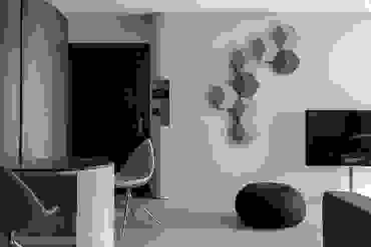 living room 根據 湜湜空間設計 現代風