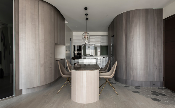 dining area 根據 湜湜空間設計 現代風