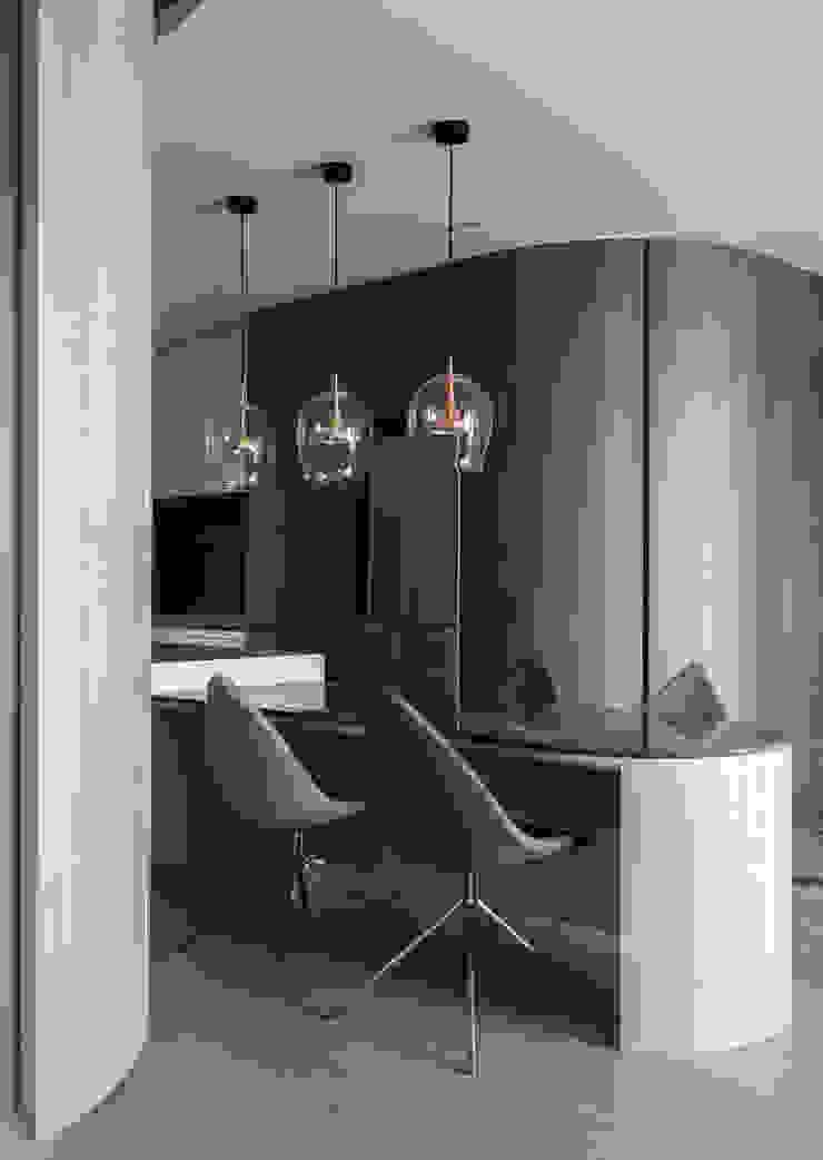 dining area 根據 湜湜空間設計 現代風 實木 Multicolored