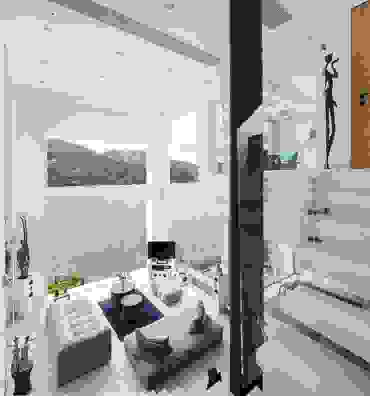 Tai Tam House Modern living room by Original Vision Modern