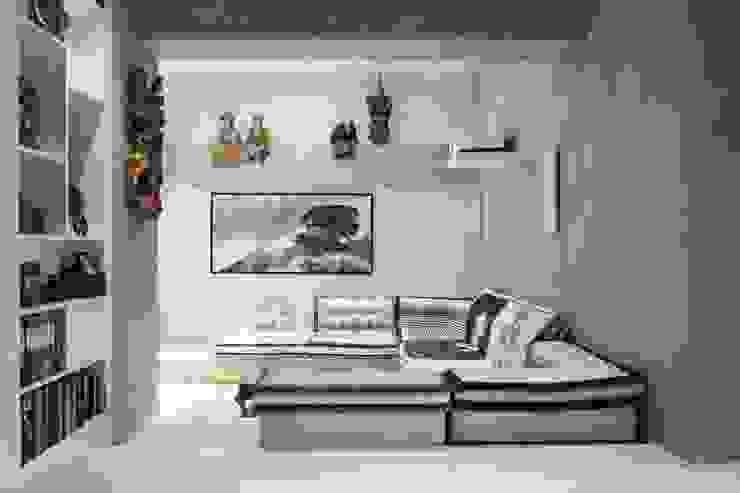 Tai Tam House Modern media room by Original Vision Modern