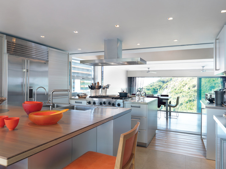 Peak House Modern kitchen by Original Vision Modern