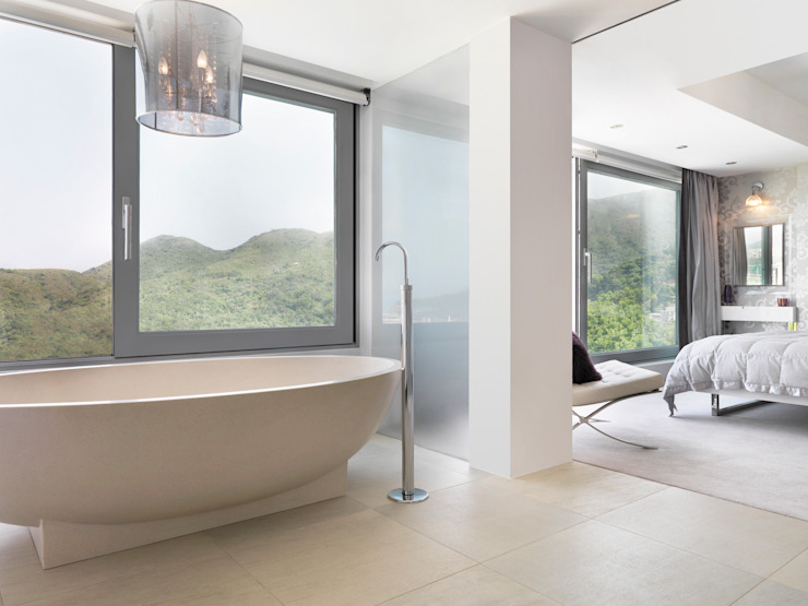Clearwater Bay House Modern bathroom by Original Vision Modern