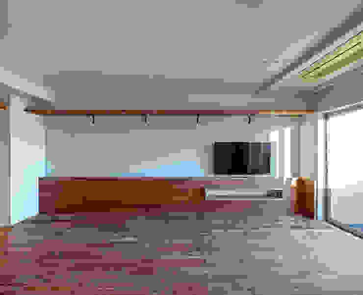 株式会社エキップ ห้องนั่งเล่น ไม้จริง Wood effect