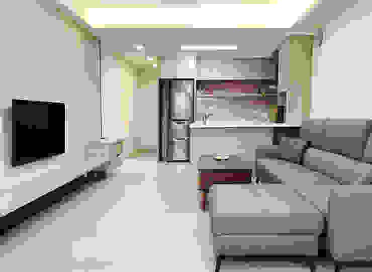 溫暖暖男系列-愛妻宣言 長城工程設 客廳餐具櫃 塑木複合材料 Green
