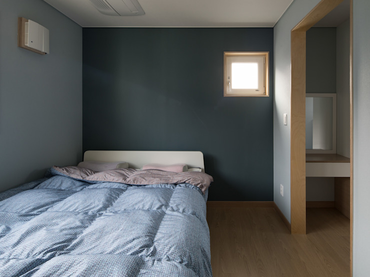 Modern Yatak Odası 소하 건축사사무소 SoHAA Modern