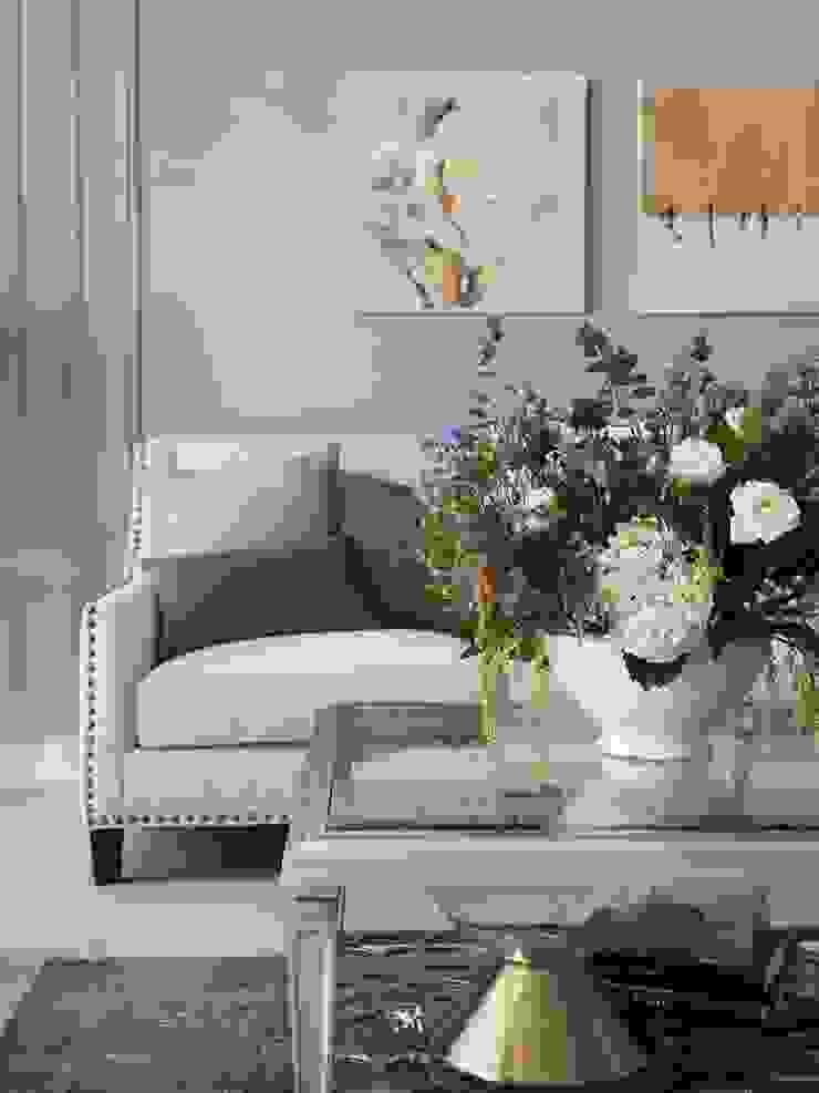 布吉瓦爾花園|The Garden at Bougival 理絲室內設計有限公司 Ris Interior Design Co., Ltd. 客廳沙發與扶手椅
