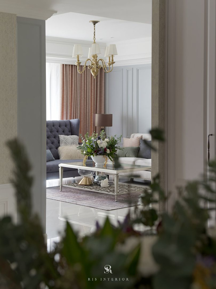 布吉瓦爾花園|The Garden at Bougival 根據 理絲室內設計有限公司 Ris Interior Design Co., Ltd. 鄉村風