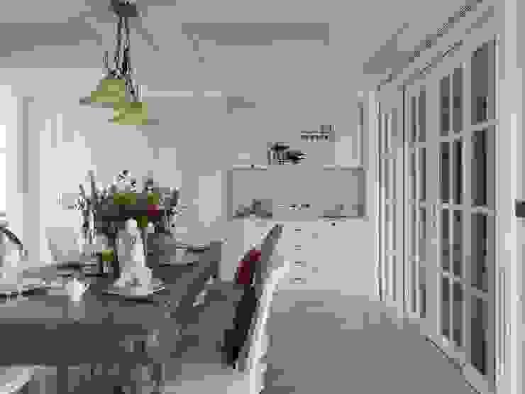 布吉瓦爾花園|The Garden at Bougival 理絲室內設計有限公司 Ris Interior Design Co., Ltd. 餐廳椅子與長凳
