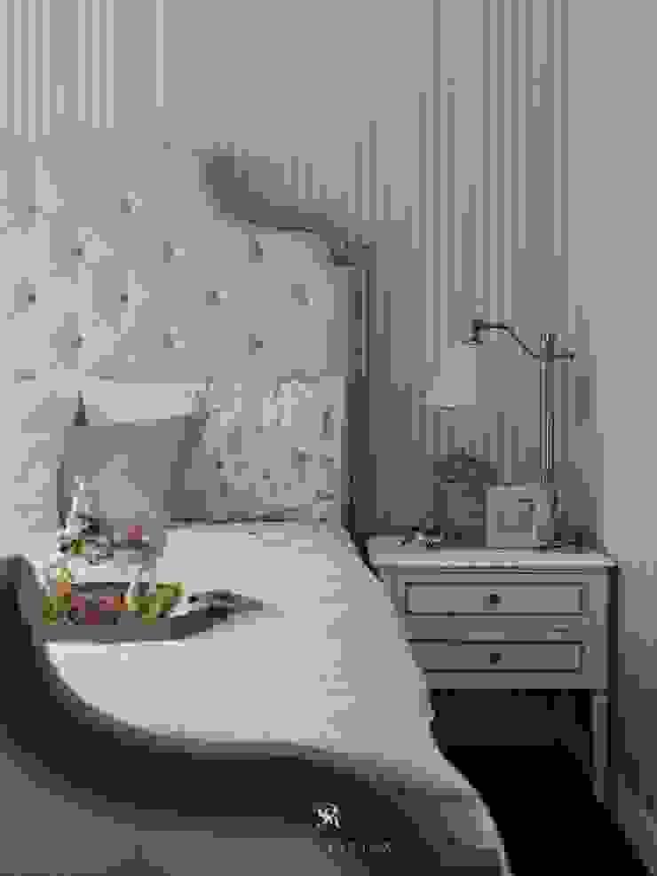 理絲室內設計有限公司 Ris Interior Design Co., Ltd. BedroomBedside tables