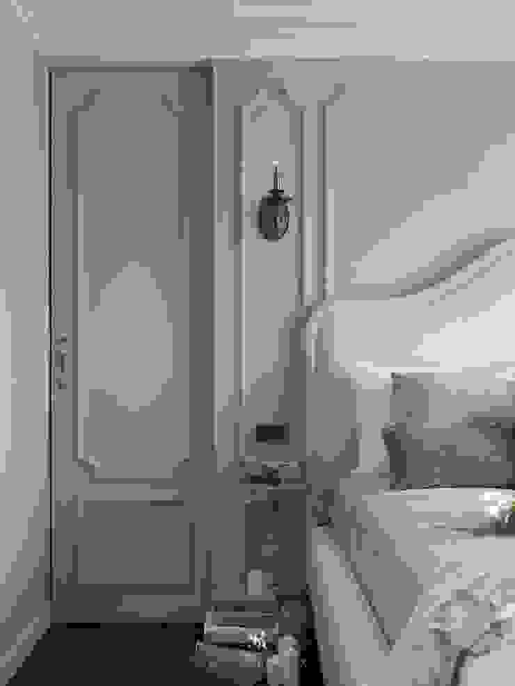 布吉瓦爾花園|The Garden at Bougival 理絲室內設計有限公司 Ris Interior Design Co., Ltd. 臥室床頭櫃