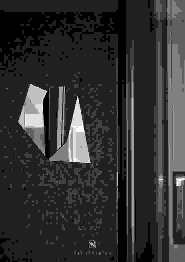 霏霧.烟波|Fog Floated 現代風玄關、走廊與階梯 根據 理絲室內設計有限公司 Ris Interior Design Co., Ltd. 現代風