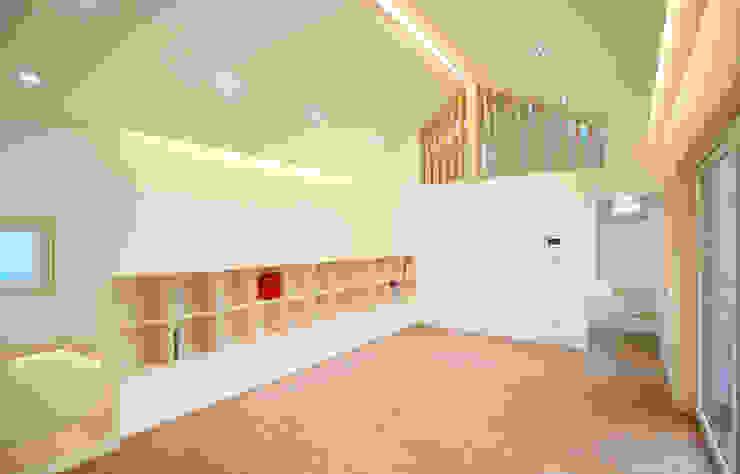Moderne Wohnzimmer von 소하 건축사사무소 SoHAA Modern