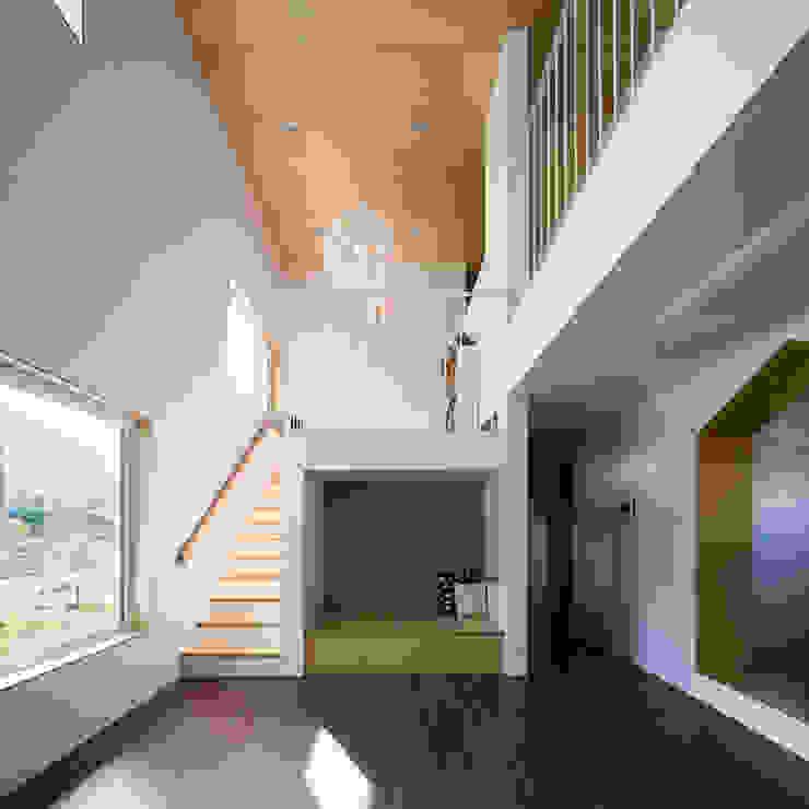 소복소복하우스 스칸디나비아 거실 by 소하 건축사사무소 SoHAA 북유럽