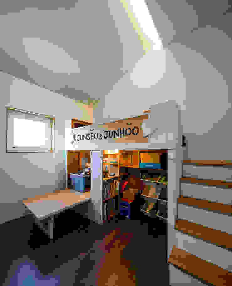 소복소복하우스 스칸디나비아 아이방 by 소하 건축사사무소 SoHAA 북유럽