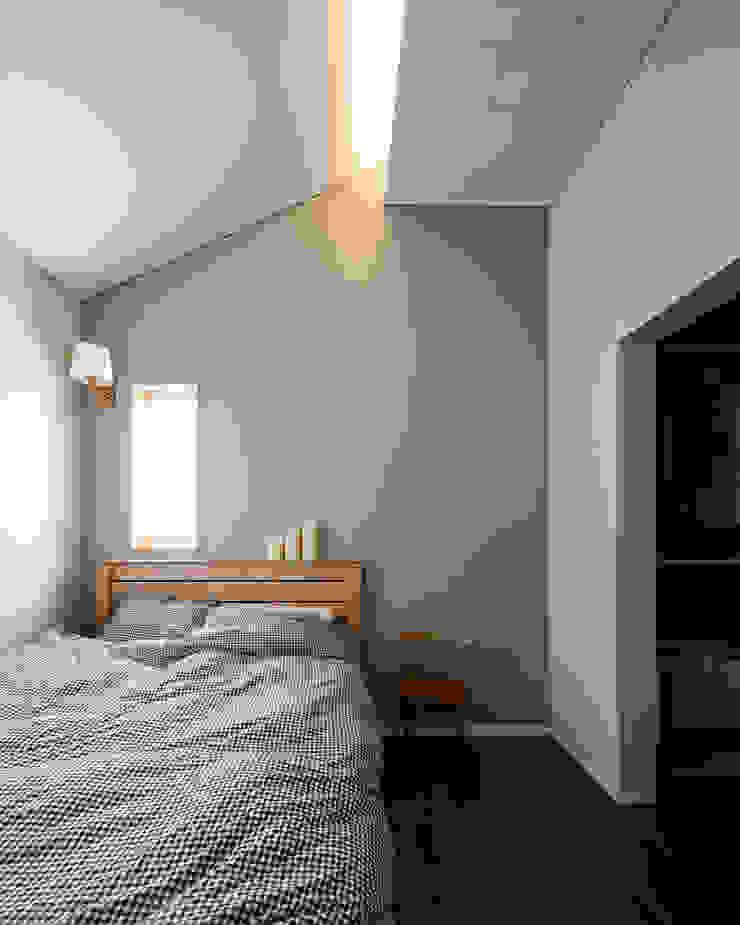 소복소복하우스 스칸디나비아 침실 by 소하 건축사사무소 SoHAA 북유럽