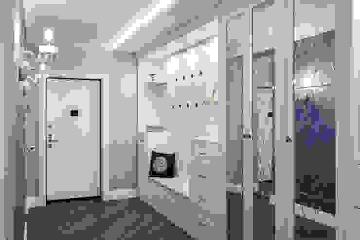 Eclectic style corridor, hallway & stairs by GLAZOV design group концептуальная студия дизайна интерьеров Eclectic